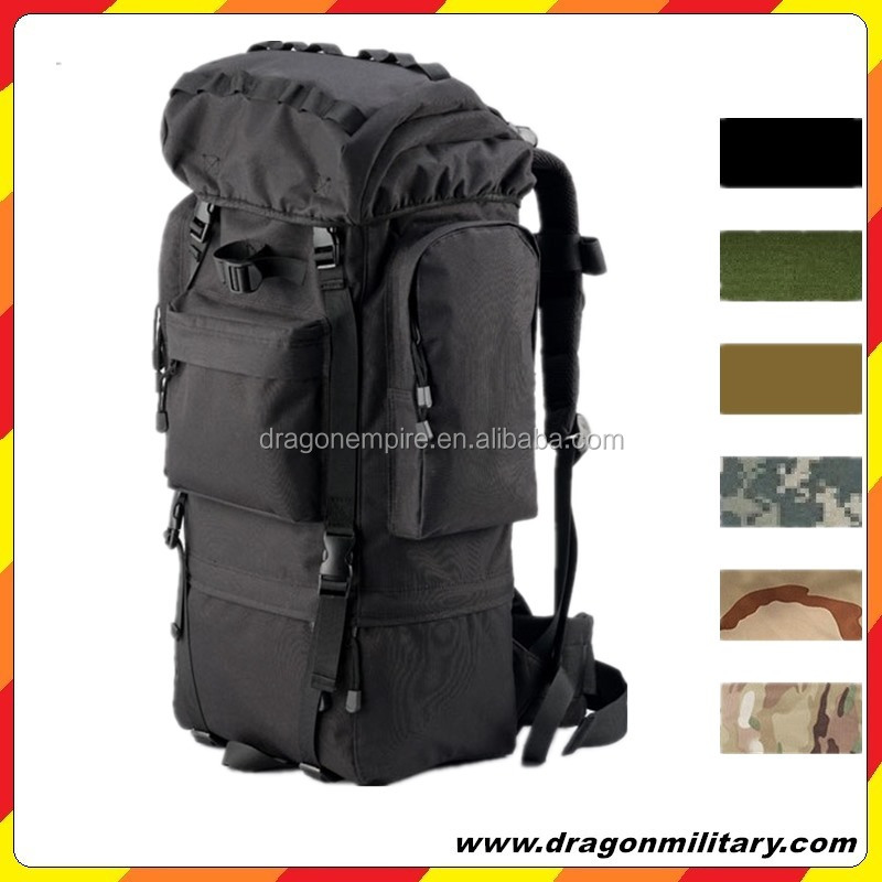 Hot sale Utility 65L travel big backpack bags