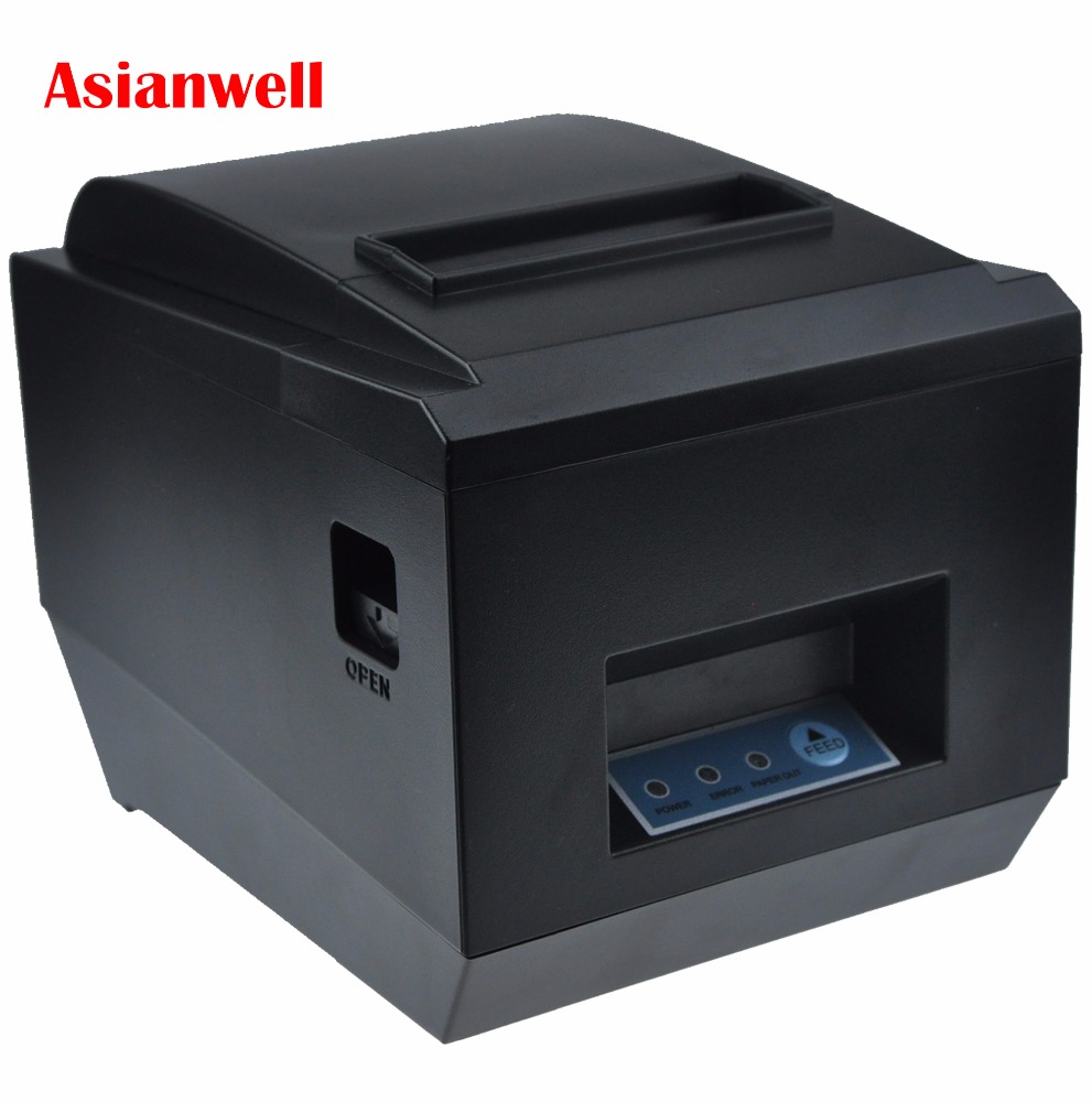 Cheap 80mm auto cutter ethernet port kitchen receipt printer 3inch cloud thermal printer AW-8250