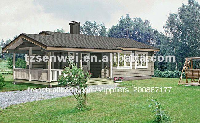 maison en bois rond maison modulaire maison pr fabriqu e. Black Bedroom Furniture Sets. Home Design Ideas