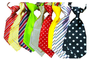 Hot sale printed promotion pet necktie for dogs