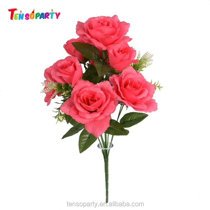 Factory Direct Flowers Silk Artificial Flowers Wholesale Plastic