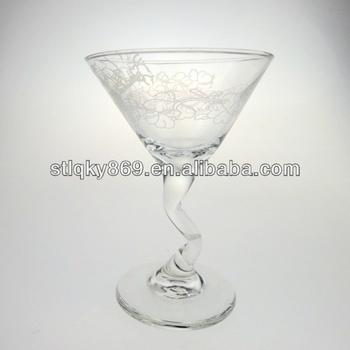 Colored Stemware Wine Glass Vase Wholesale Martini Glass Vase