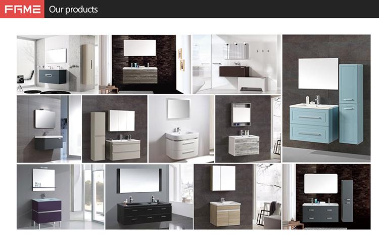 ミラー塗装浴室キャビネット浴室家具化粧キャビネットモダンなバスルームキャビネット