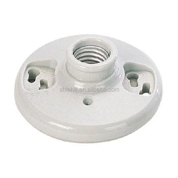 E27 Ceramic Lamp Socket Porcelain Lamp Holder 4-1/2 - Buy Lamp ...