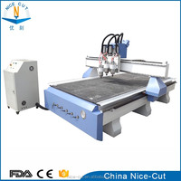 New design! furniture door making automatic tool changer cnc router woodworking machine 1325 ATC cnc router