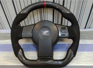 100% Real Carbon Fiber Steering Wheel for 350z