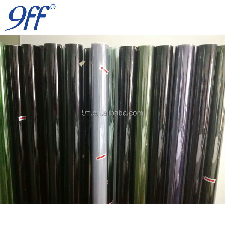 9ff 1.52*30M OEM accepted car window tint film solar tint durable film