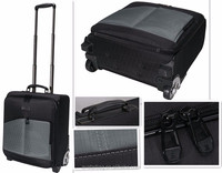 polyster customized Travel Bag on Wheels luggage bag for 14