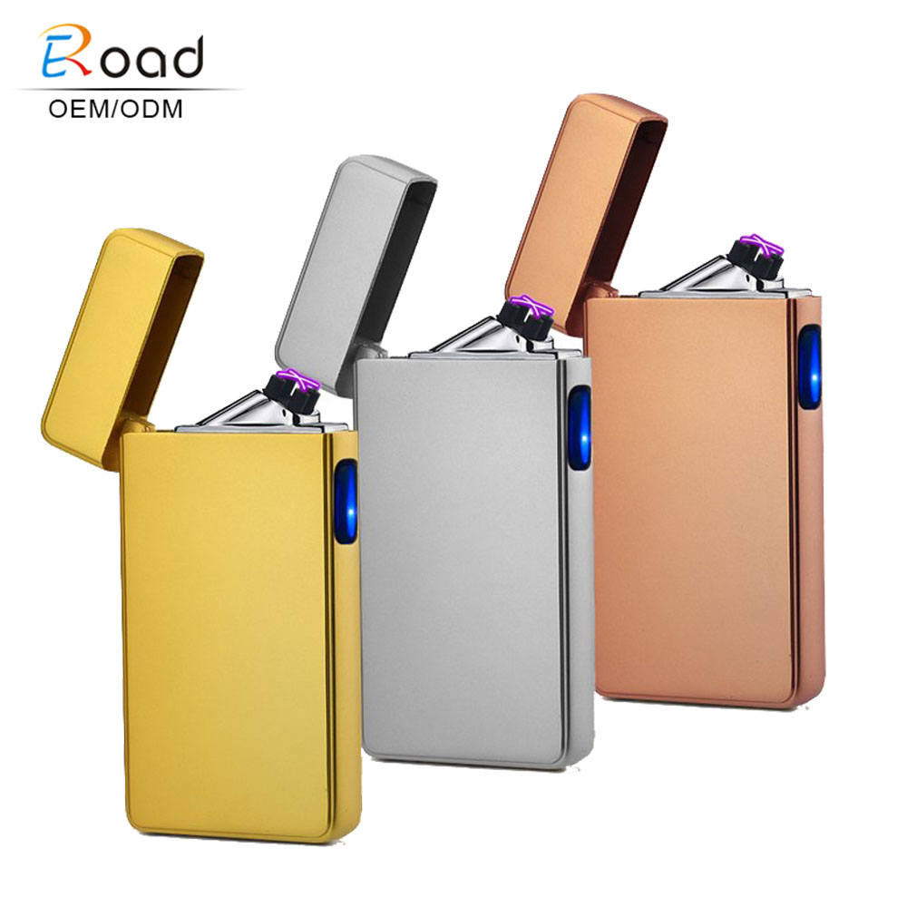 Eroad DA006 555 Cigarette Windproof Double Arc Lighter Atomic Cigarettes Making Machine