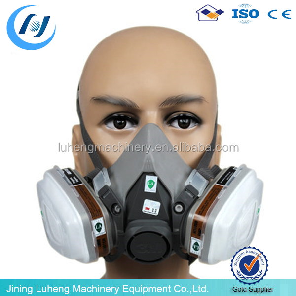 3M 6200 half face respirator 3M half face mask 6200 3M chemical gas half mask/safety gas mask