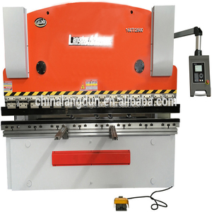 Stable quality WC67Y- 40 ~ 160T / 2500 ~ 4000mm metal plate hydraulic bending machine automatic parts