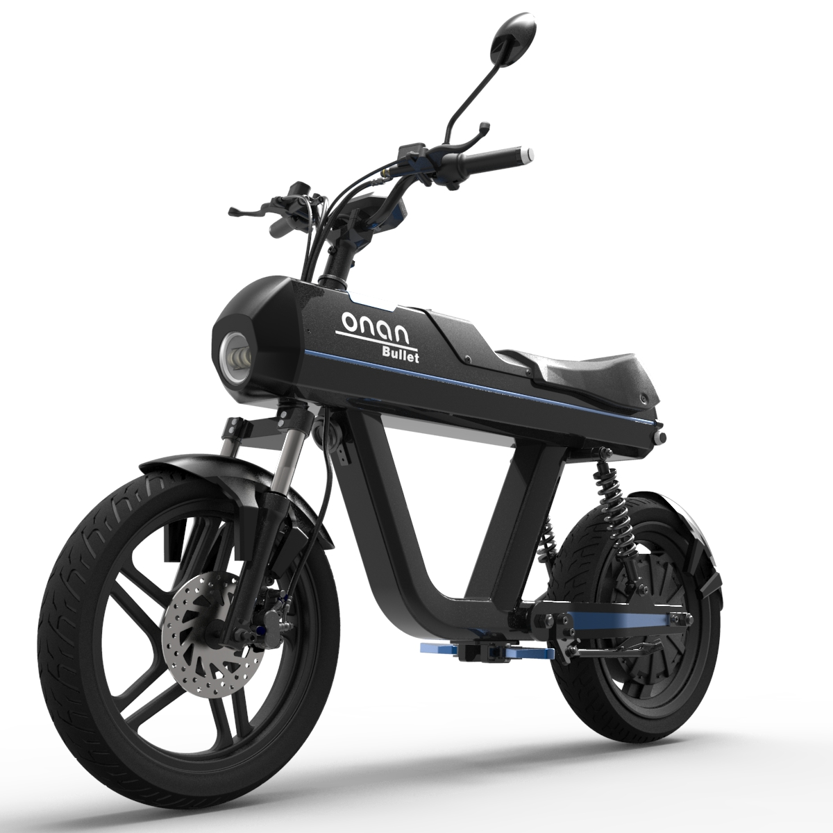 ONAN 100 KM/H Max Speed Electric bicycle Motorcycle For Sale