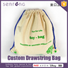 Mesh Bags Drawstring , Cotton Canvas Drawstring Bag