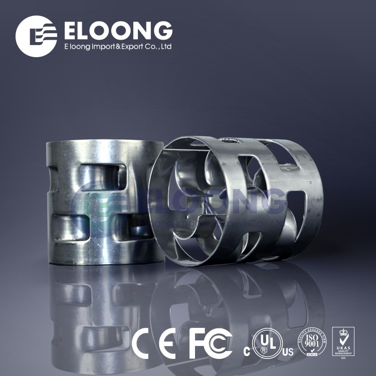 Hot Sale 50mm Alloy Isooctane Separation Metal Pall Ring