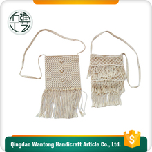 professional designers Qingdao hand made crochet bags for women