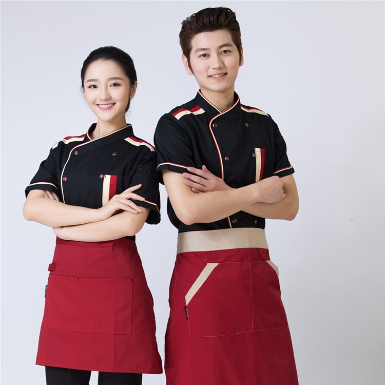 Chinese Restaurant Uniform Design Western Bar Waiter Hostess ...