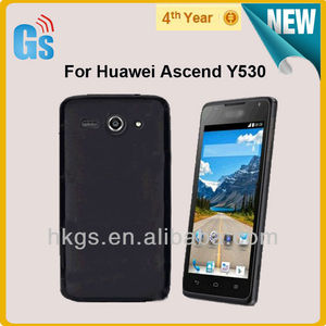 Top Quality Pudding Matte TPU Soft Gel Case Back Cover For Huawei Ascend  Y530
