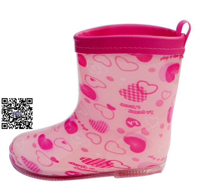 Wholesale 2015 pretty kids' rubber rain boots candy gumboots tall ...