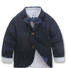 boys Blazers Children s clothing 2015 thin autumn male child outerwear autumn casual blazer boys jacket