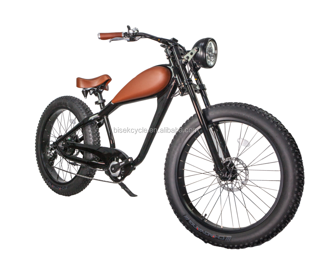 2018 brand new design from Bisek cycle 48v 500w 750w fat tire electric <strong>bike</strong> with hidden battery