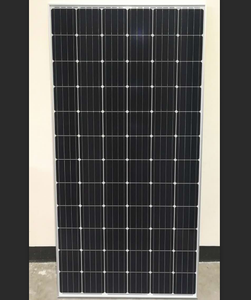 370W 72cells JA Monocrystalline PERC Double Glass Bifacial Solar Panel