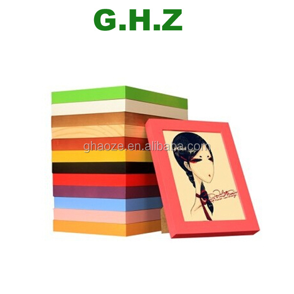 Wholesale 4x6 Inch Picture Frames Thick Wood Picture Frame Factory ...