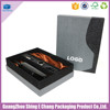 Fashon design Custom wine carton box with holder / leather wine carrier for wine glass gift box