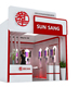 One side open special design 3m * 3m (10ft * 10ft ) customize exhibition stall/stand/booth