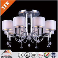 fan crystal chandelier surface mounted led ceiling mount fluorescent light