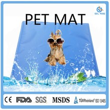 Re-Useable Self-Cooling Pet Smart Dog Grooming Breathable Gel Pet Bed