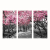 Cherry Blossom Tree Canvas Wal Art Painting For Home Decor/Winter Garden Canvas Prints/Modern Landscpe Wall Decor Picture