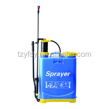 Agricultural plastic knapsack sprayers 16 liter hand backpack sprayer cheap price supplier
