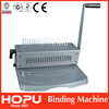 supplier popular office automatic manual binding machine comb binding machine