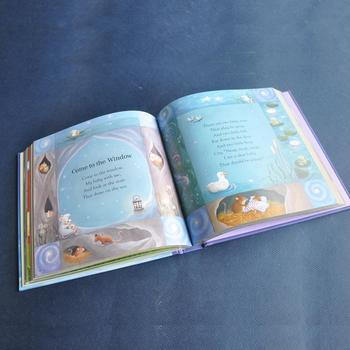Children tale hardcover book offset printing service