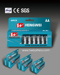 1.5v alkaline battery aa/lr6/am3 1.5v bulk package battery