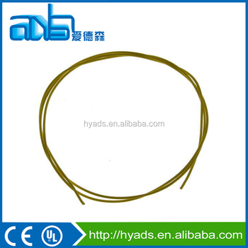 Yellow 18 Awg Teflon Coated Silver Plated Copper Wire