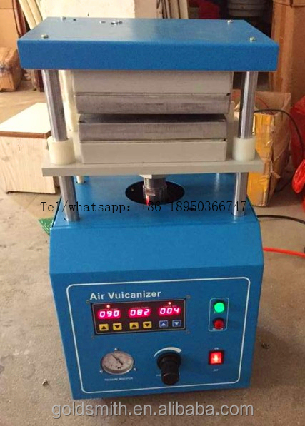 Hot Sale Digital Panel Jewelry vulcanizing press Mold Vulcanizer rubber mold casting machine mini molding machine