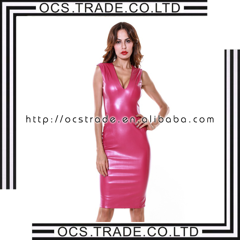 Catálogo de fabricantes de Vestido De Noche De Cuero de alta calidad ...