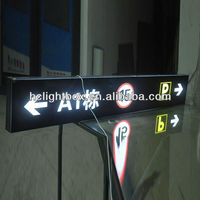 plastic poster frame led display panel