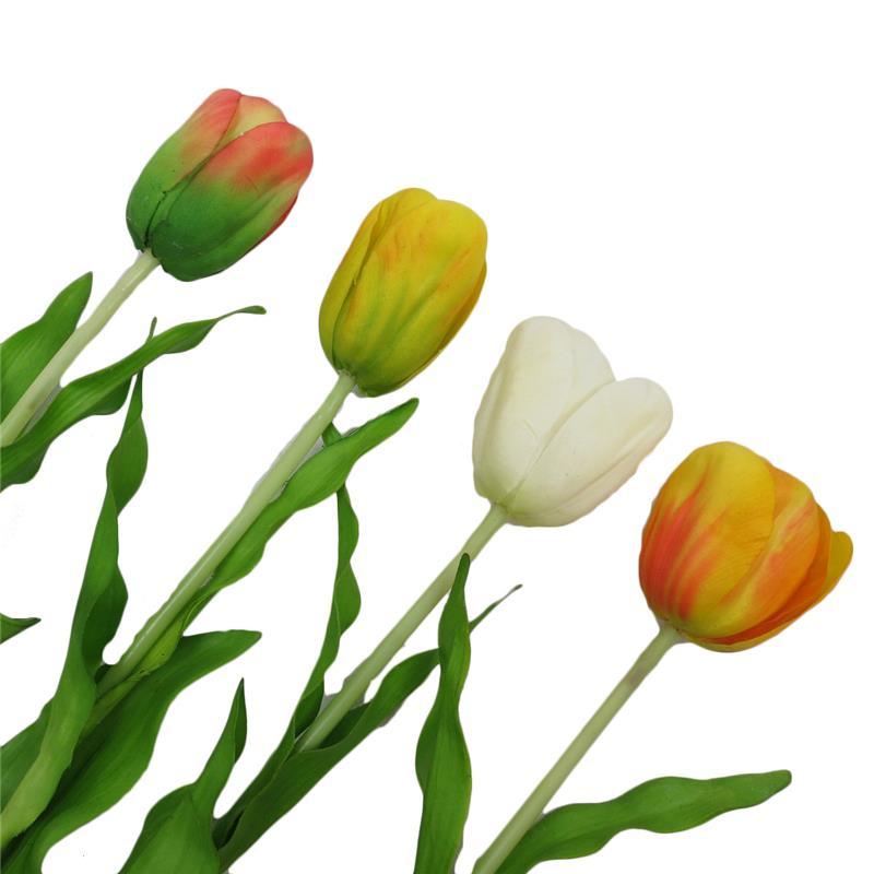 265h artificial white tulip silk flowerdecoration artificial 265h artificial white tulip silk flower decoration artificial tulip flower coral silk mightylinksfo