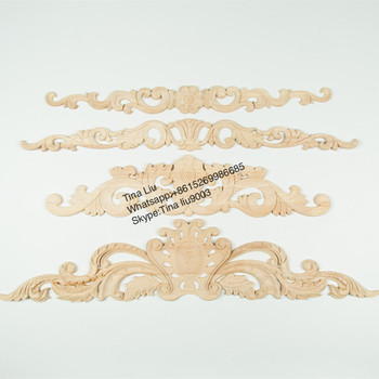 hand carved appliques and onlays wood decorative products