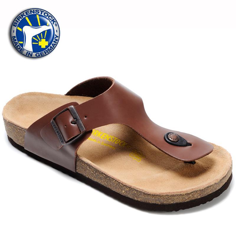 Get Quotations · 2015 Summer New Birkenstock Sandals Black Color Birkenstock  Gizeh Sandals Men 783b6d32f0cb