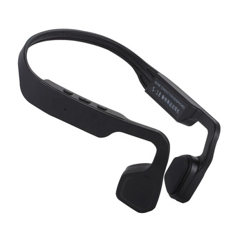 2018 New Design Top Selling Open Ear Handsfree Earbuds Wireless Waterproof Bone Conduction Headphones Earphones for Running