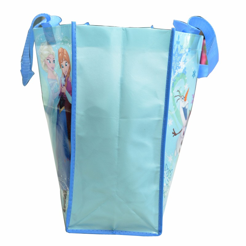 promotional reusable plastic cotton shopping bag