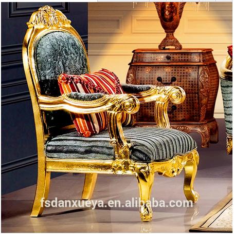 DanXueYa Arabic Furniture Fancy Design Fabric Wooden Sofa/single Chair/one  Seat Chair
