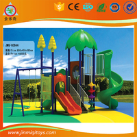 Valuable double JMQ-G084A slide swing seat ,slide swing little tikes,kids playground for sales