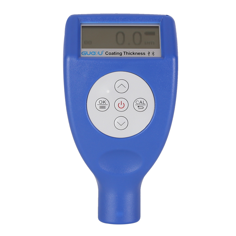 Digital Paint Coating Thickness Gauge Handheld Coatings Thickness Tester with Auto Function Fe/NF Probe Car Detector Automotive