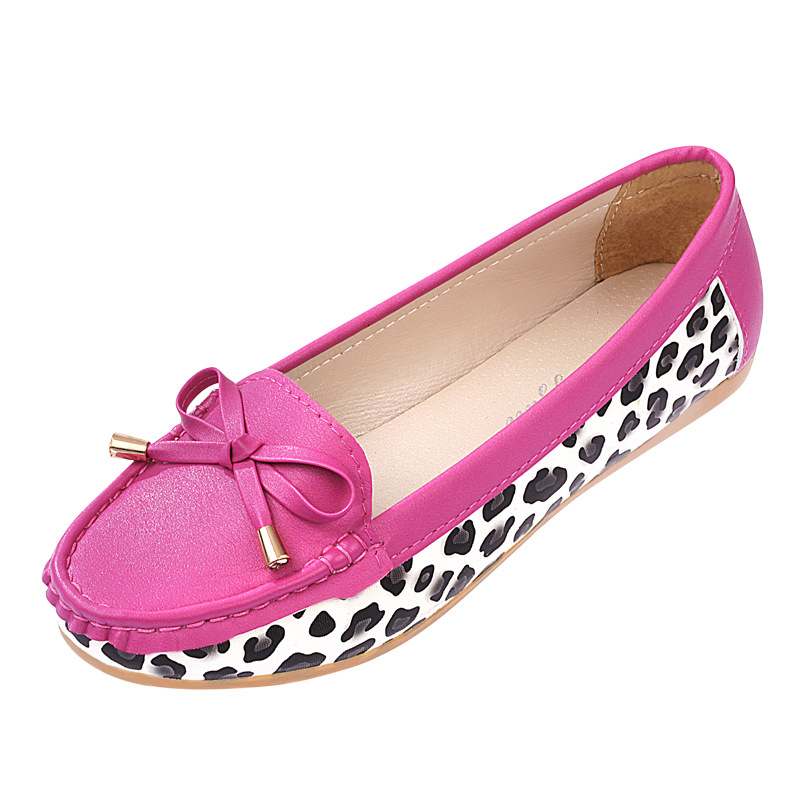 Leopard Womens Loafers 2016 New Spring Summer Shoes Women