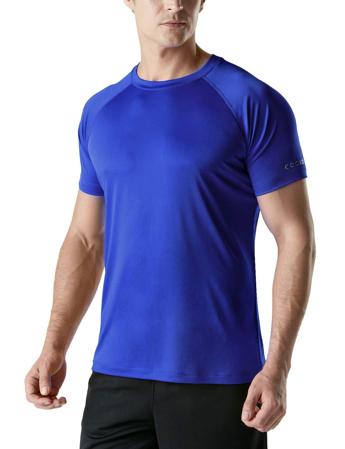 Tesla Men's HyperDri Short Sleeve T-Shirt Athletic Cool Running Top MTS04/MTS03