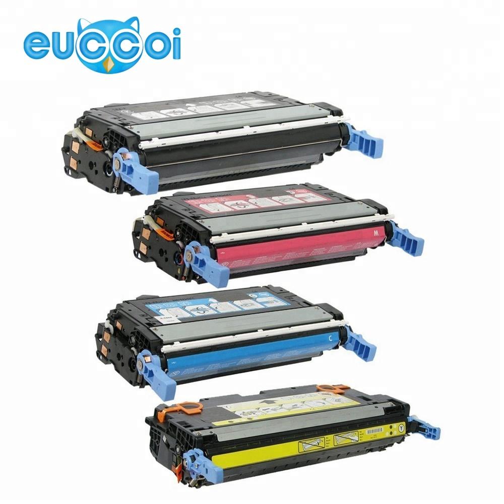 CB401A CB402A CB403A 3-Pack Toner Set for HP CP4005,CP4005dn LaserJet GREEN ENG